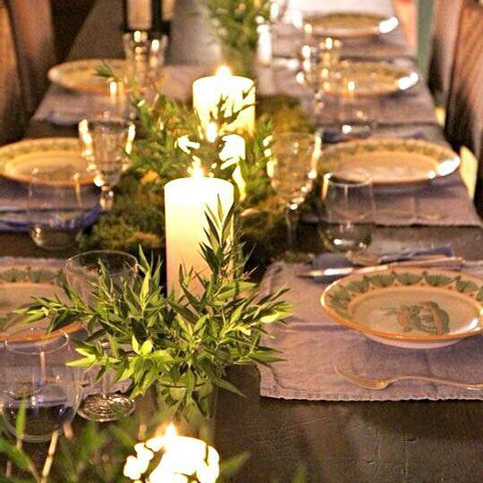 22 pretty christmas table decorations