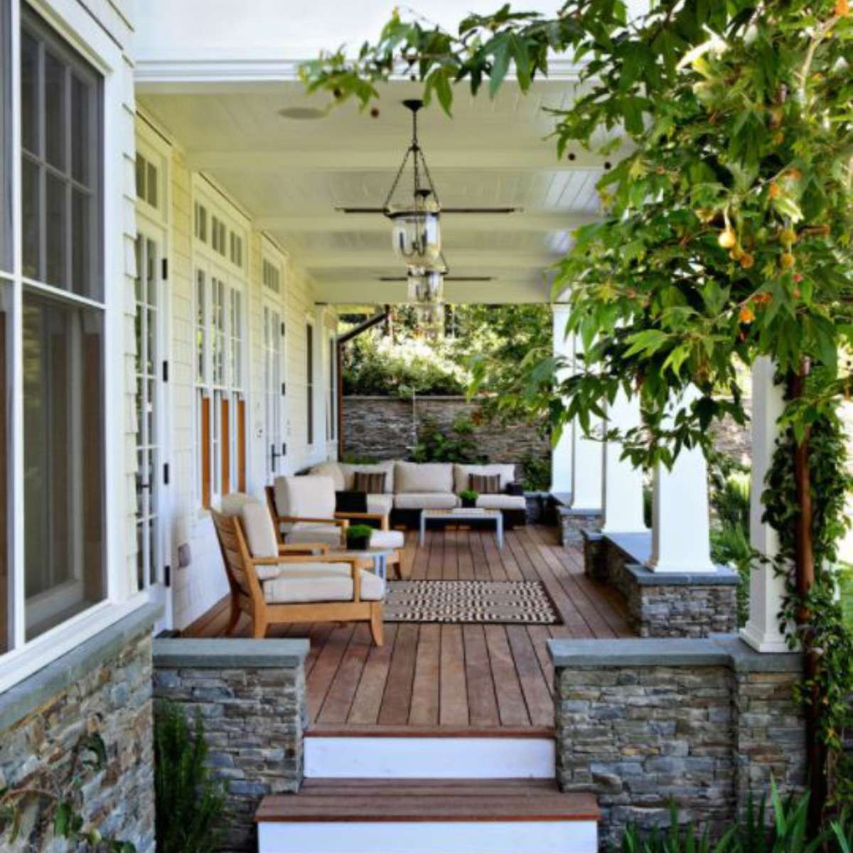 Download Covered Front Porch Ideas Pics