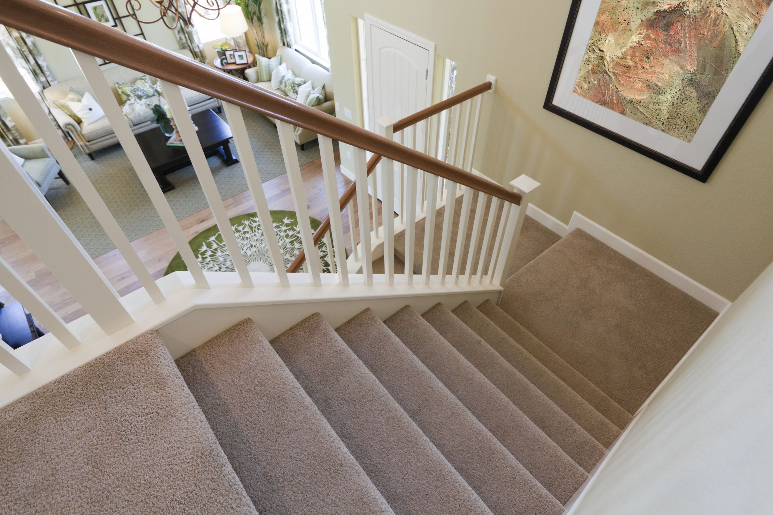 The Best Carpet For Stairs | Carpet Colors For Stairs