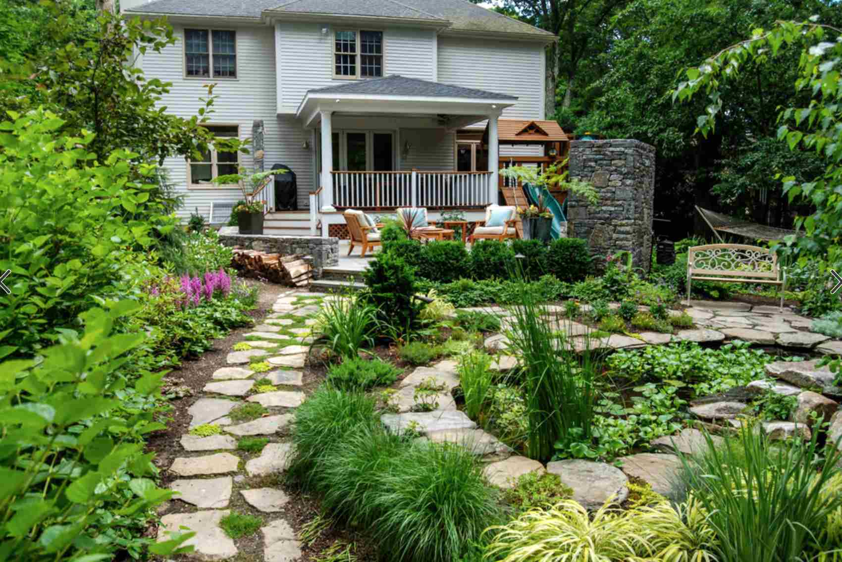 49 Backyard Landscaping Ideas to Inspire You on No Lawn Garden Ideas  id=48653
