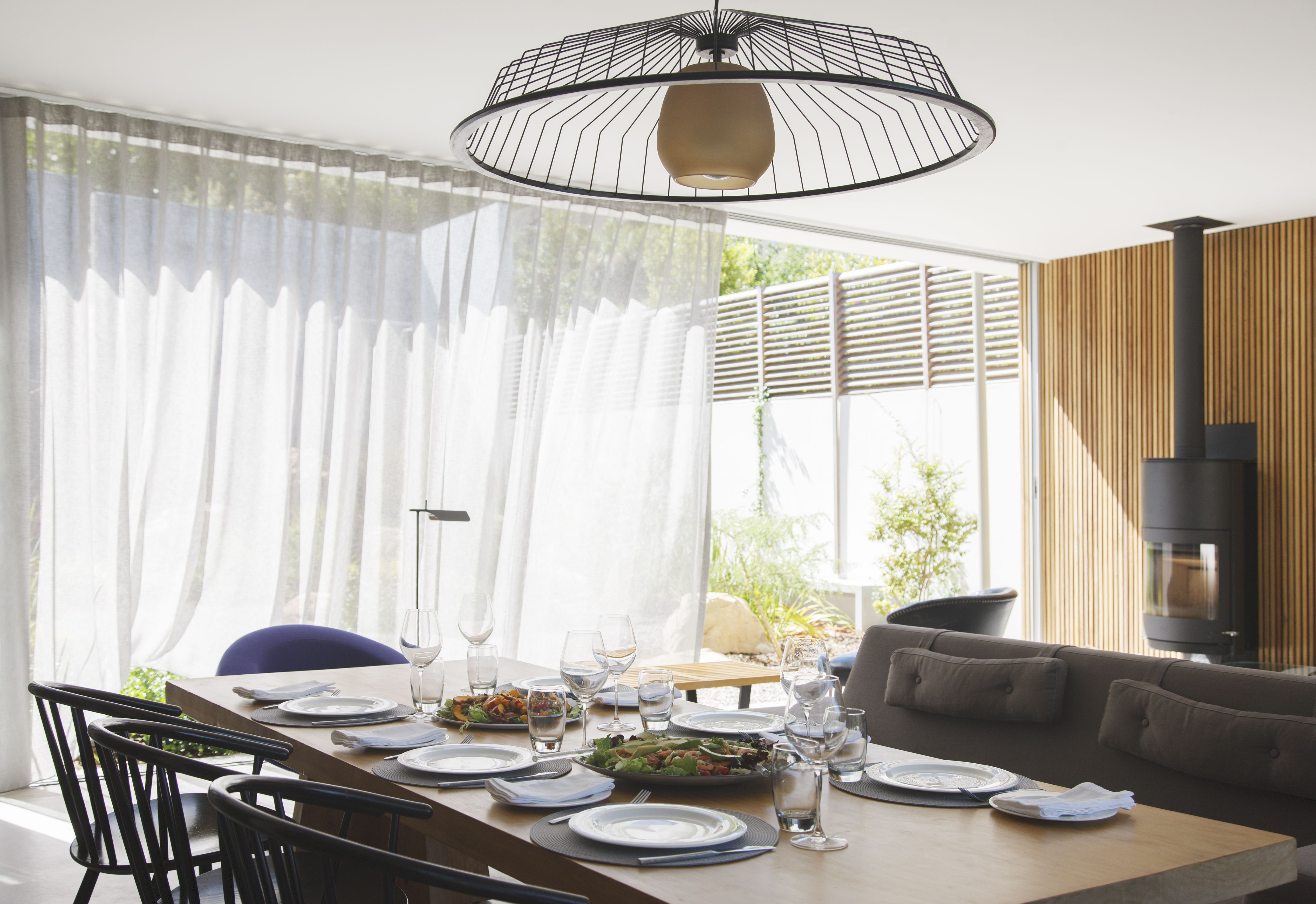 Soften Your Dining Room With Curtains or Drapes on Dining Room Curtains  id=41371