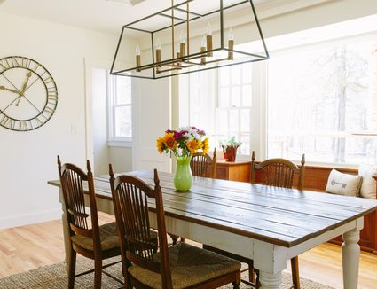 how to determine the right chandelier size for a room on 77 Choosing The Right And Fitting Dining Room Table id=21329