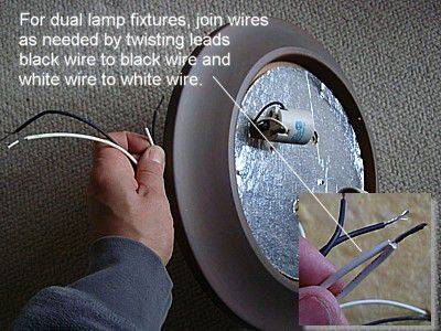 How to Replace a Ceiling Light Fixture ceiling light fixture wiring