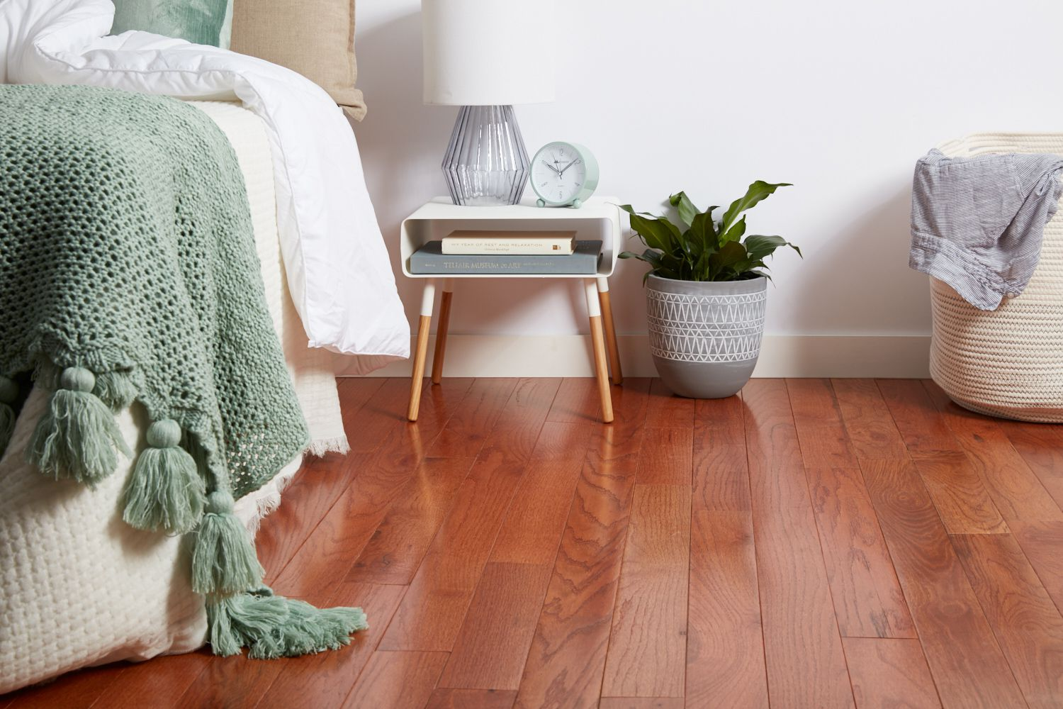 hardwood flooring in bedrooms pros and cons