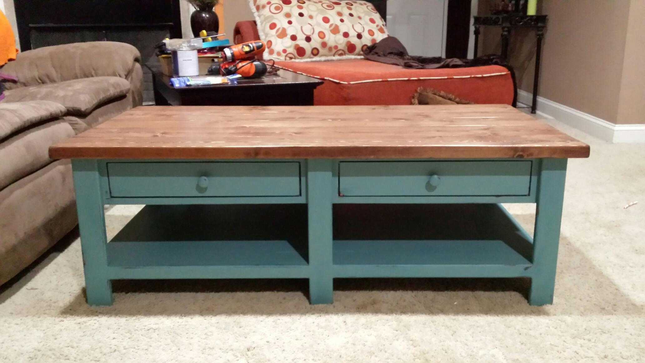 21 Free DIY Coffee Table Plans You Can Build Today on Coffee Table Plans  id=39402