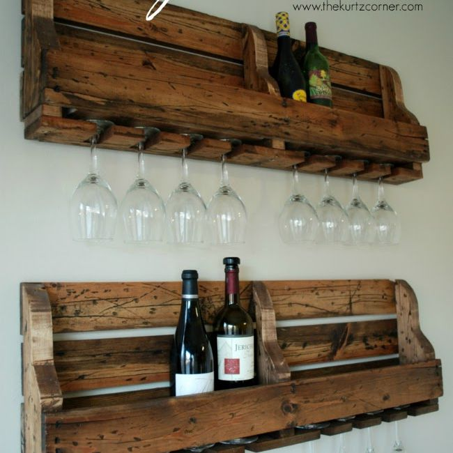 10 free diy wine rack plans you can