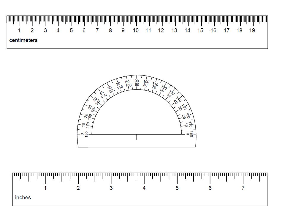 Inch Size 1 Actual Printable