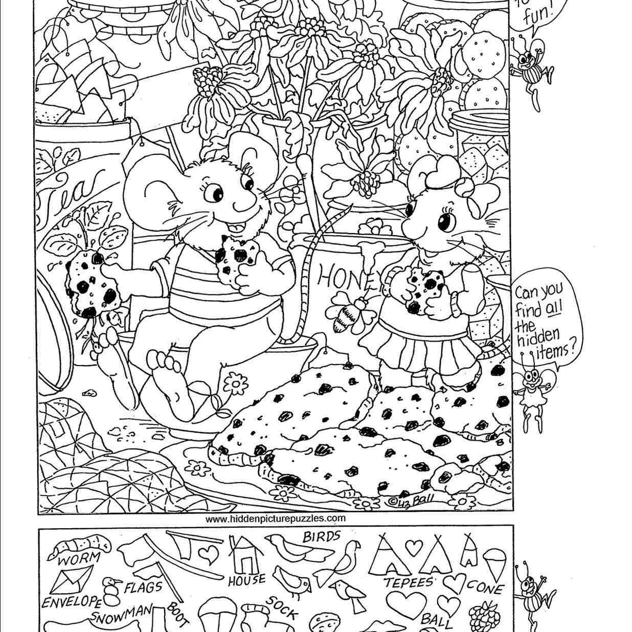 Printable Hidden Object Games