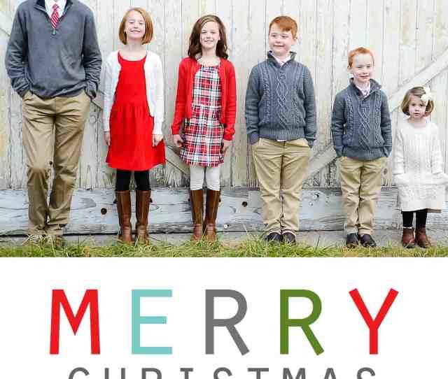 A Photo Christmas Card