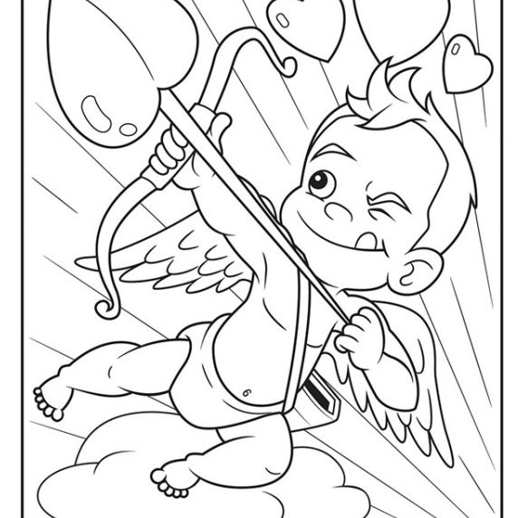 Free Printable Valentine S Day Coloring Pages