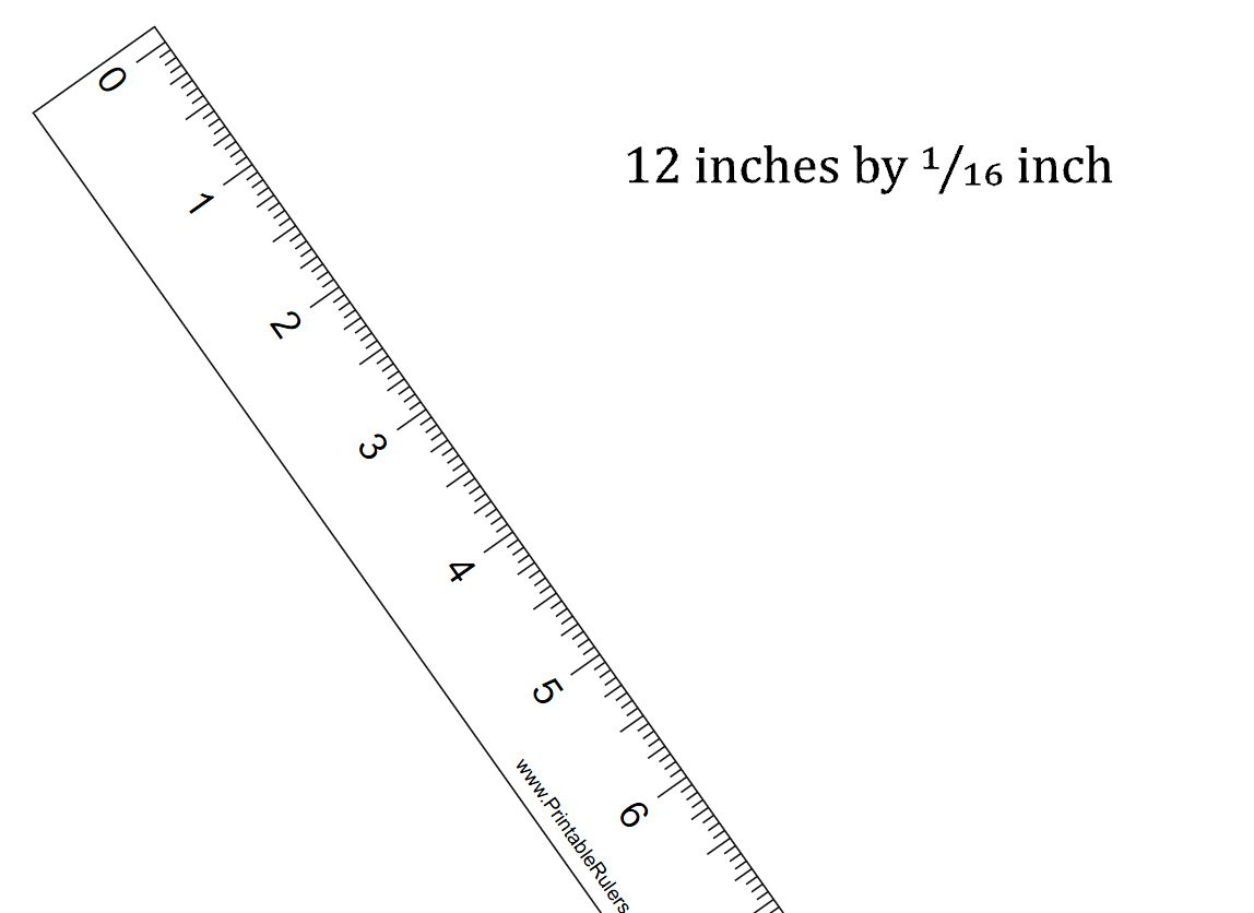 92 Free Printable Rulers In Actual Size