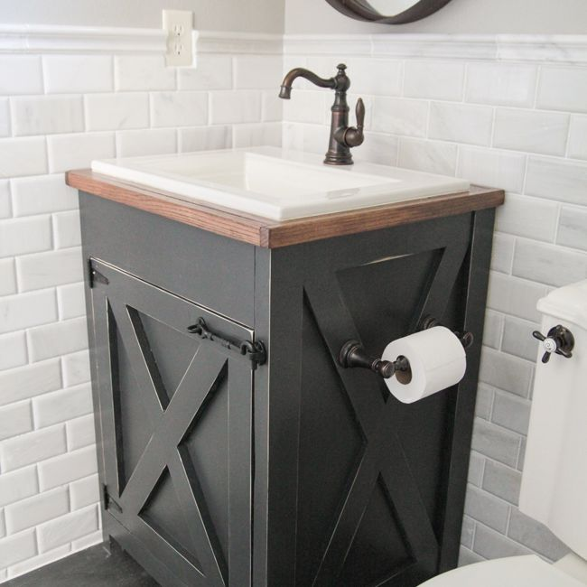 13 diy bathroom vanity plans you can