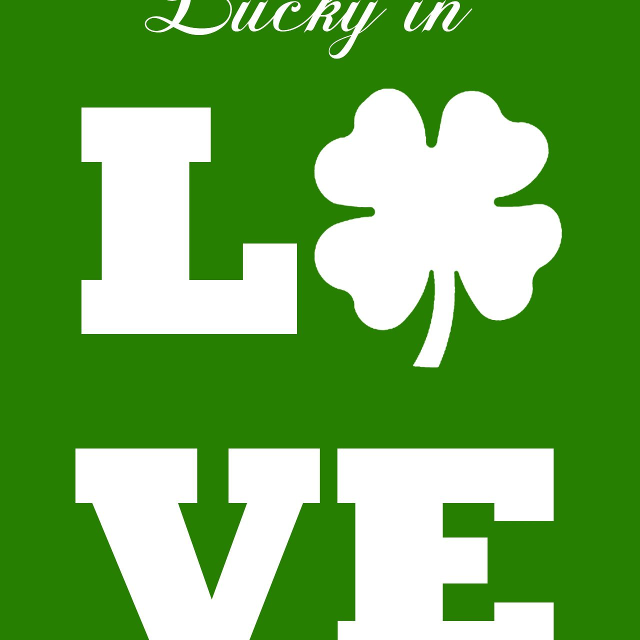 12 Free Diy St Patrick S Day Decorations You Can Print