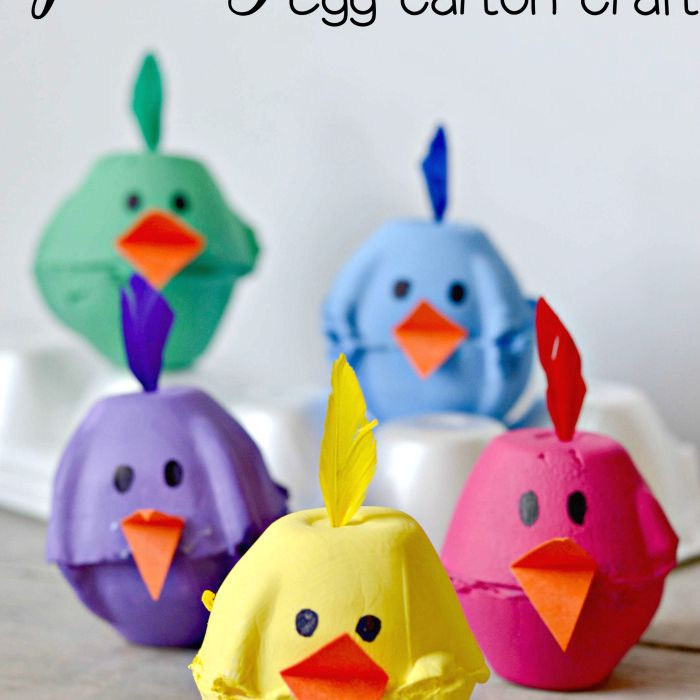 And it can be decorated in so many different ways. Recycled Egg Carton Crafts For Kids