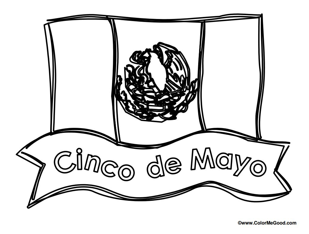 11 Places To Find Free Cinco De Mayo Coloring Pages