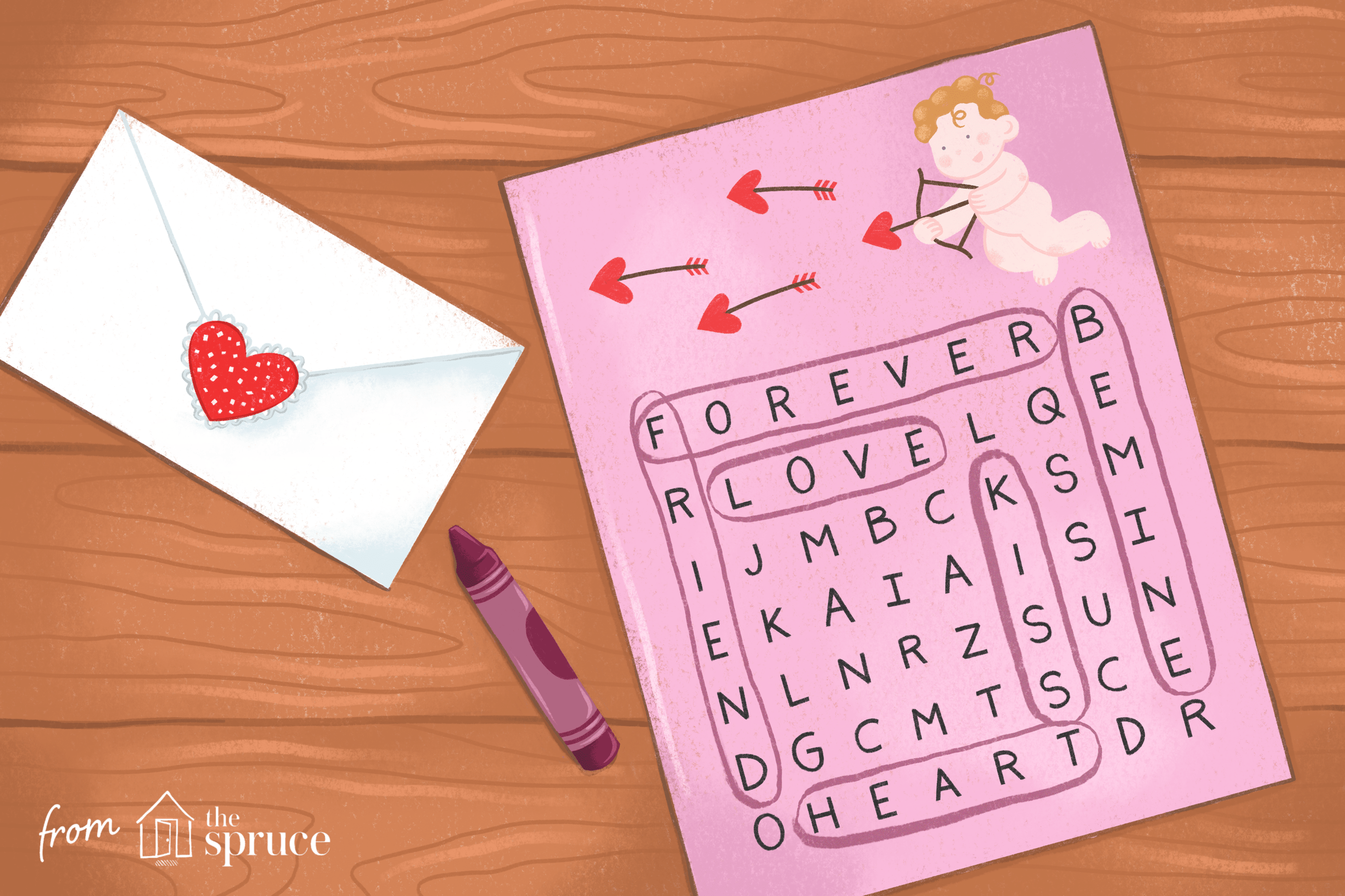 Valentine S Days Crosswords Word Searches And Puzzles