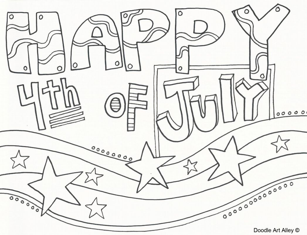 Free Printable 4th Of July Coloring Pages For Kids