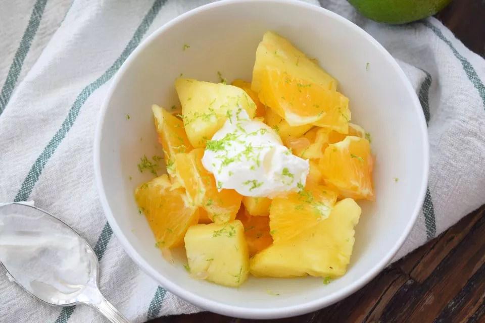 Vanilla Citrus Fruit Salad