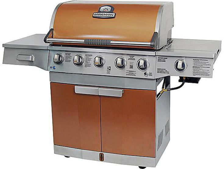 Brinkmann Medallion 5 Burner Gas Grill