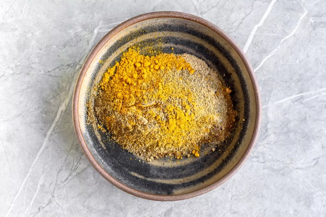 Thai Curry Powder ingredients in a bowl