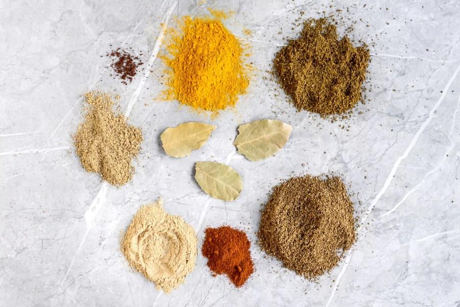 Thai Curry Powder Recipe ingredients