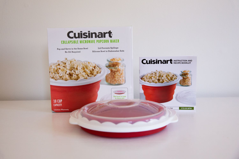 pop and serve microwave popcorn maker