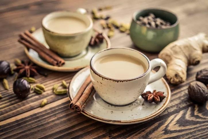 Milk chai tea