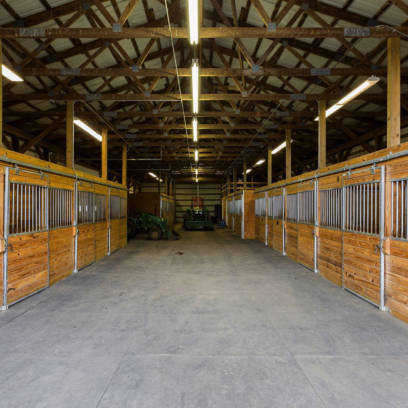 lighting your stable