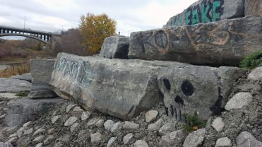 """The skull is a hidden gem within the Grand River Trail."""