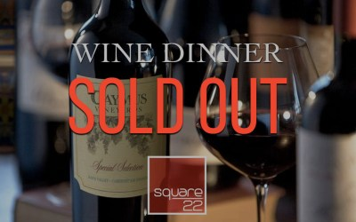 Wine Dinner – Caymus Wines (SOLD OUT)