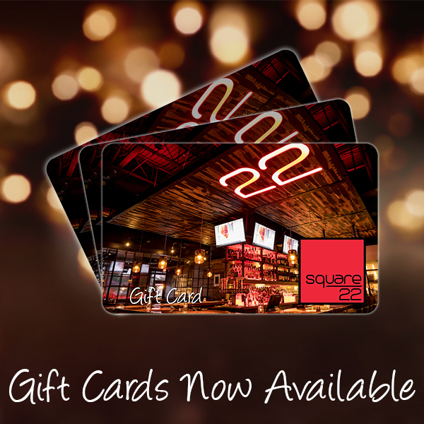 Square 22 Gift Cards