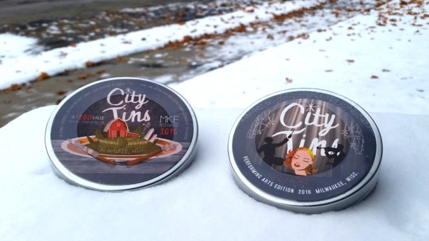 2016 City Tins (Restaurant and Performing Arts editions).