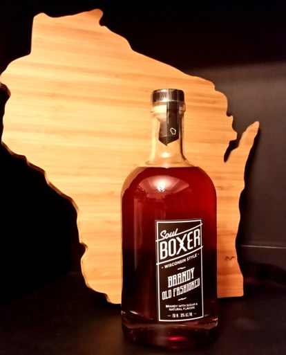 SoulBoxer brandy old fashioneds: doesn't get much more Wisconsin than that.