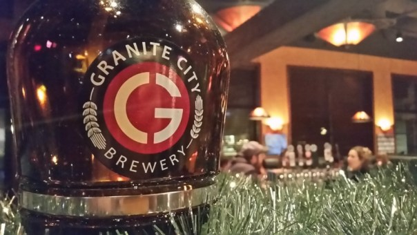 Granite City Food & Brewery in Madison, WI. All photos by Joe Powell.