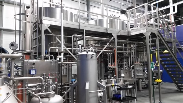 We've rarely seen such impressive brewing equipment.