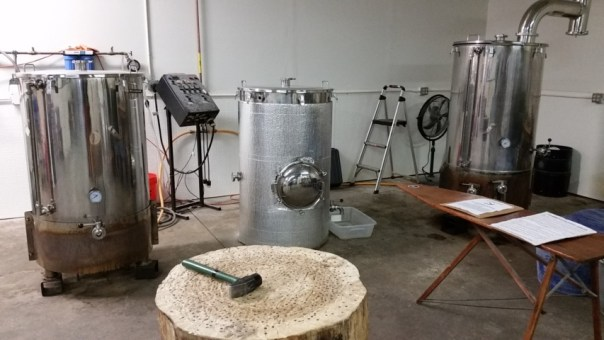 A quick game of Hammerschlagen inbetween brewing batches is the secret ingredient.