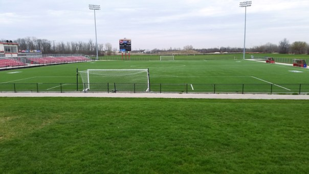 Uihlein Soccer Park, home field for the Milwaukee Torrent soccer team. Photo by Joe Powell.