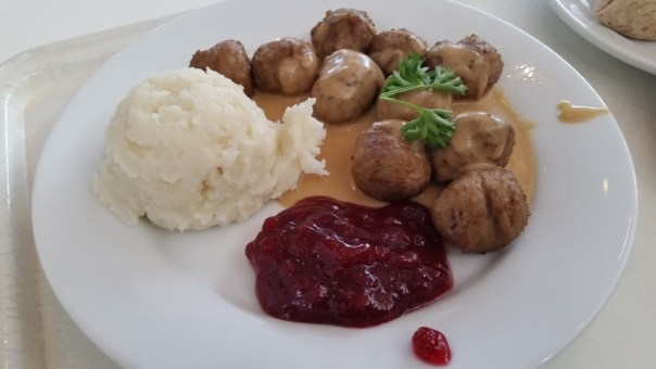 The Swedish meatballs do not disappoint, either.