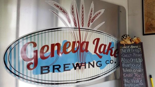 Geneva Lake Brewing Company in Lake Geneva. All photos by Joe Powell.