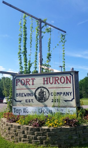 Port Huron Brewing Company in the Wisconsin Dells. All photos by Joe Powell and Zach Kirchenwitz.