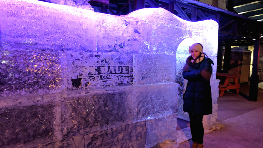 be a local tourist st paul s ice bar the squeaky curd