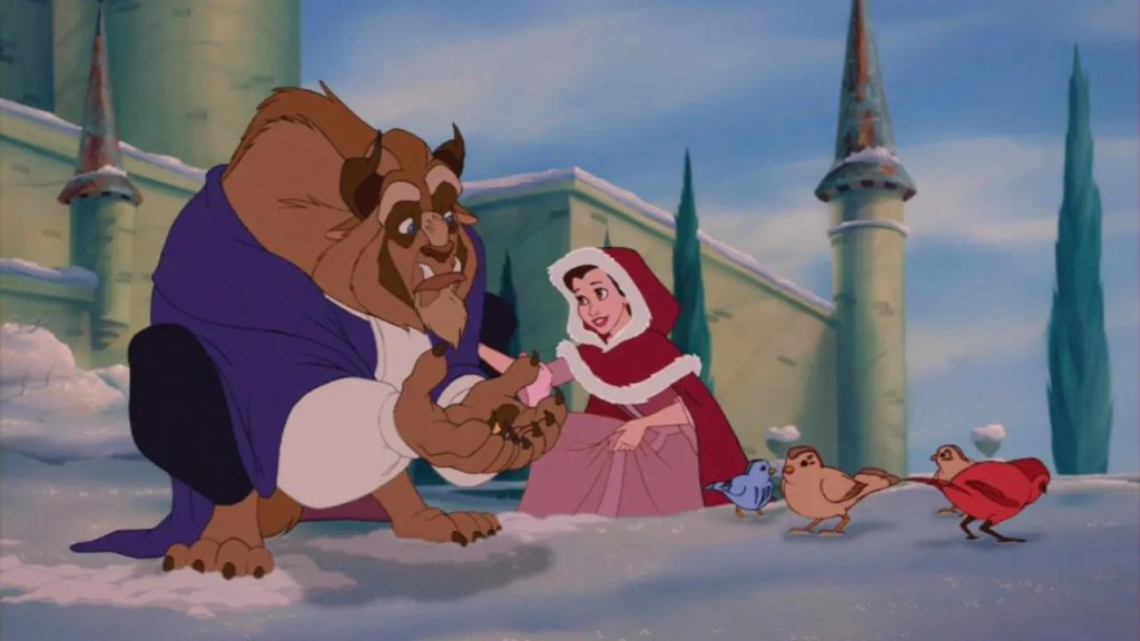 beauty and the beast belle and beast