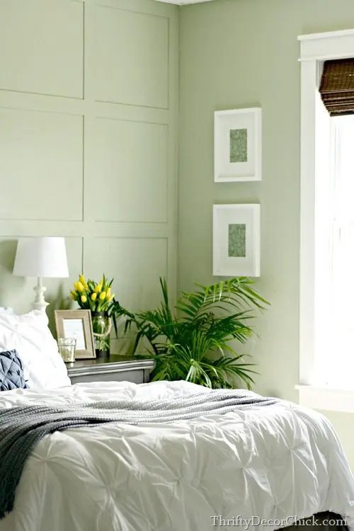 15 best green paint colors to spruce up your walls the for Bedroom interior designs green