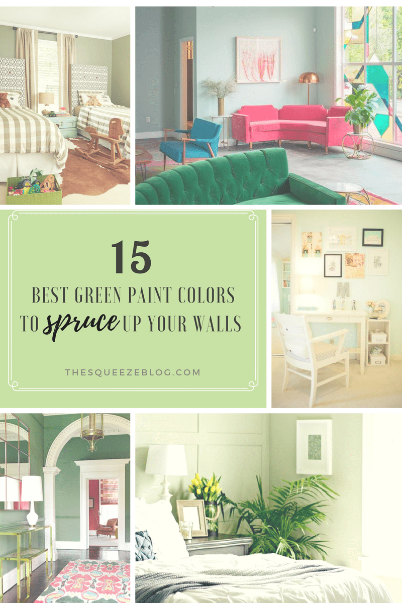 15 Best Green Paint Colors To Spruce Up Your Walls