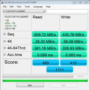 M5 Pro AS SSD Bench