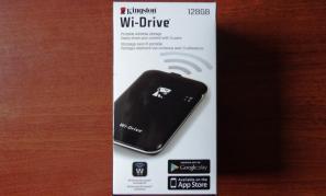 Kingston 128GB Wi-Drive Pik2