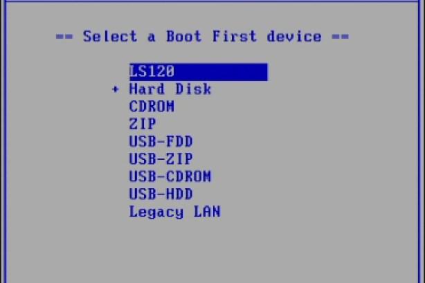 gigabyte boot menu list