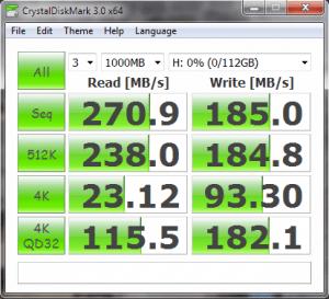 KingFast KF1310MCF mSATA SSD CrystalDisk Mark Random