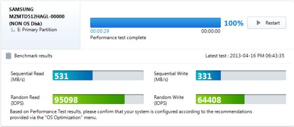 Samsung PM841 512GB Magician