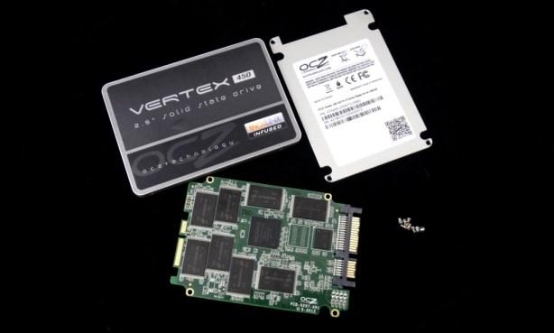 OCZ Vertex 450 Disassembled